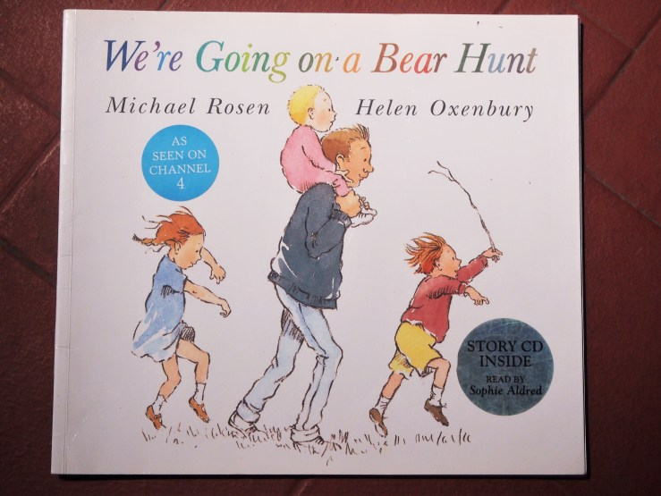 "Portada ""We're going on a bear hunt"""