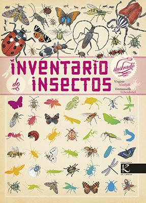"""Portada del libro """"Inventario de insectos"""""""