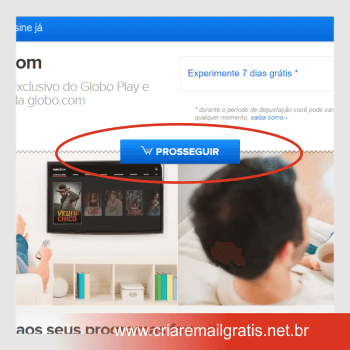 Criar E-mail Grátis Globo Mail