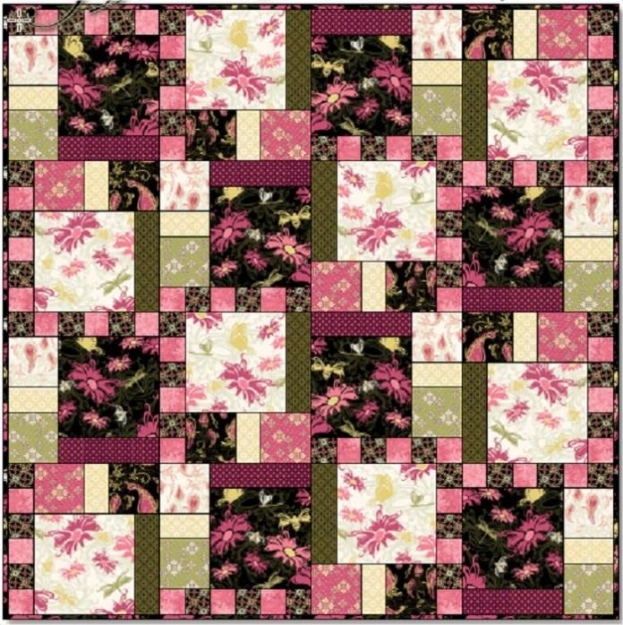 Aubrey Quilt Pattern pattern free