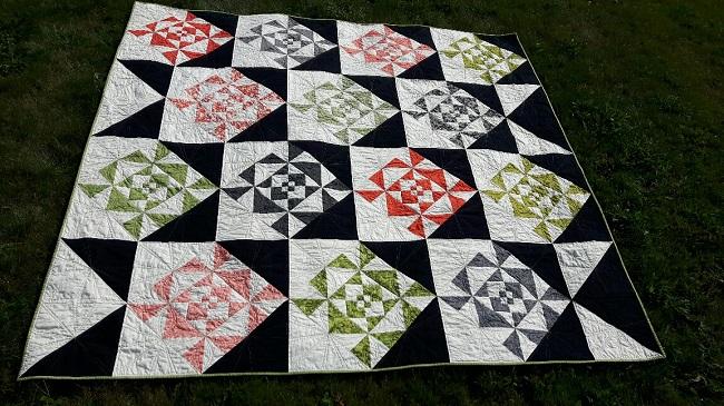 Web Weaver Quilt Pattern