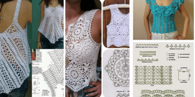 Crochet Blouse and Top Tutorial