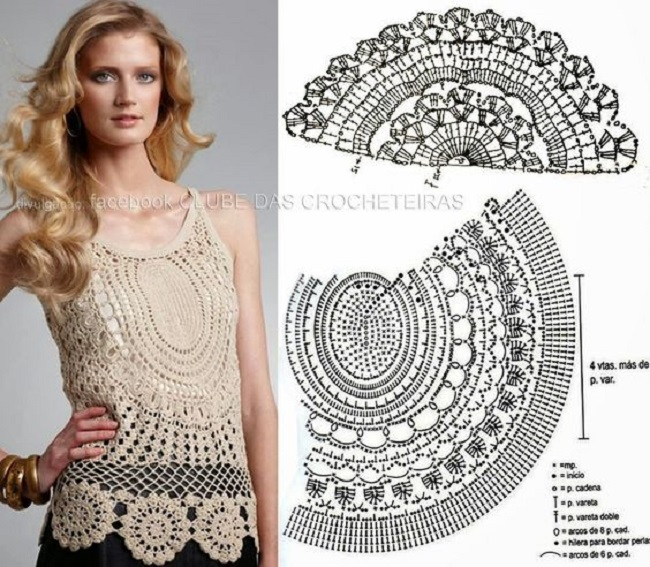 Crochet Blouse and Top - Image 01