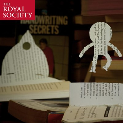 The Royal Society - Young People's Book Prize. Stop motion book cuttings.