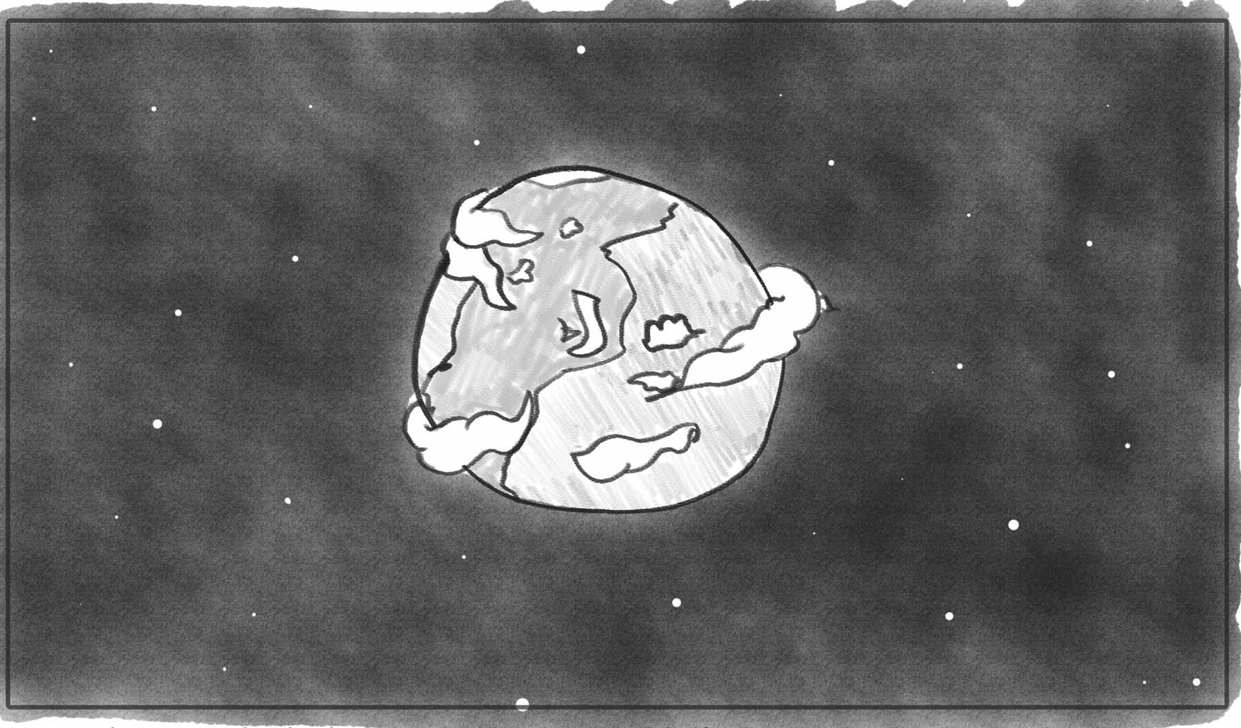 Make Believe — Storyboard frame — World