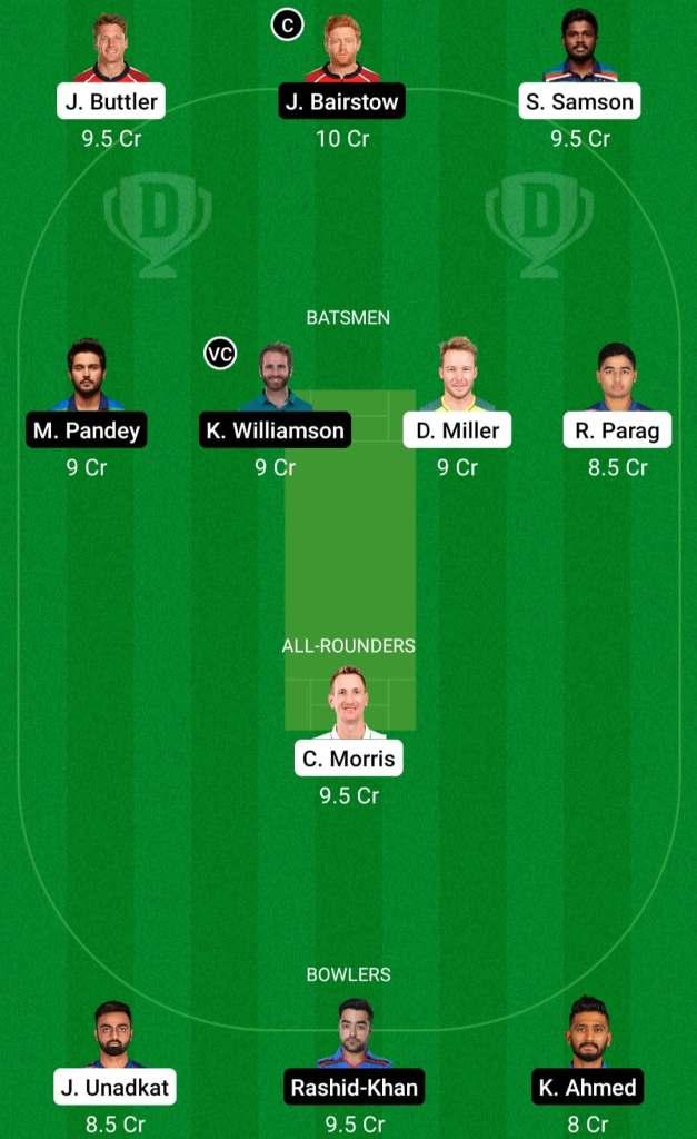 IPL 2021 Match 28: RR vs SRH Dream11 Prediction Possible Playing 11 Pitch Report | RR vs SRH Dream11 Prediction Today | Rajasthan Royals vs SunRisers Hyderabad Key Players | Delhi Pitch Report
