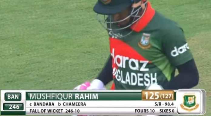 Twitter reactions to classy 125 by Mushfiqur Rahim in 2nd ODI | Fans full of praise for Mushfiqur Rahim after his 125 vs Sri Lanka
