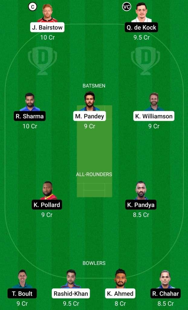 IPL 2021 Match 31: SRH vs MI Dream11 Prediction Possible Playing 11 Pitch Report | MI vs SRH Dream11 Prediction Today | Mumbai Indians vs SunRisers Hyderabad | Delhi Pitch Report