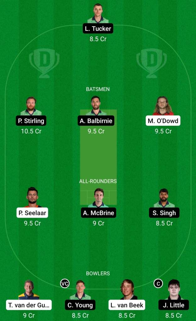NED vs IRE 3rd ODI Dream11 Prediction Possible Playing 11 Pitch Report | NED vs IRE 3rd ODI Dream11 Prediction Today | Netherlands vs Ireland 3rd ODI Key Players | Utrecht Pitch Report
