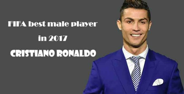 Cristiano Ronaldo win FIFA best male player award in 2017