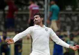 Ravindra jadeja suspended for Pallekele Test after addition of drawback points.
