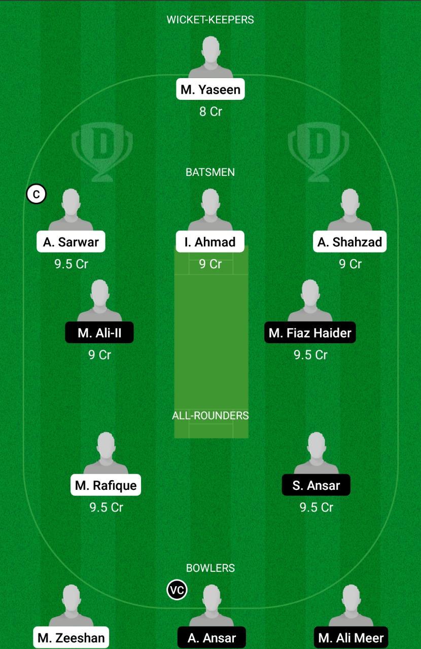 FAL vs TRS Dream11 Prediction Fantasy Cricket Tips Dream11 Team ECS T10 Barcelona