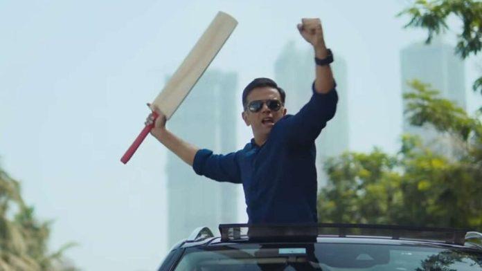 Rahul Dravid Ad
