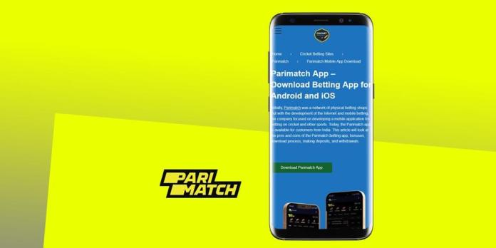 Review of the PariMatch Mobile App for Android in India