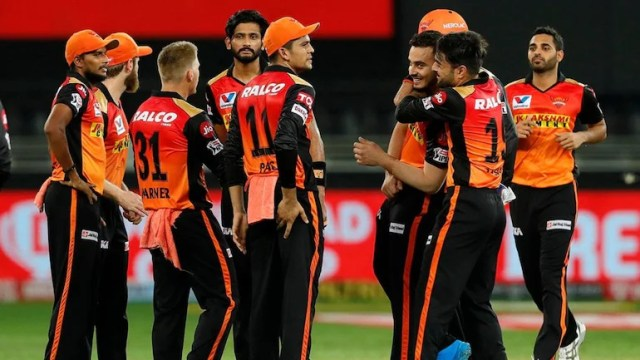 सनराइजर्स हैदराबाद, आईपीएल 2021