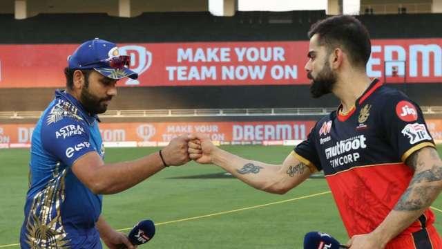 Rohit Sharma and Virat Kohli in IPL 2021