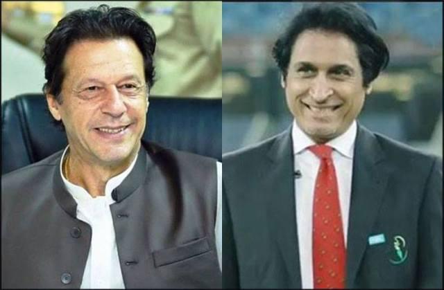पाकिस्तान के पीएम इमरान खान ने अगले पीसीबी अध्यक्ष के रूप में रमीज राजा को हरी झंडी दी।  फोटो- आरवाई
