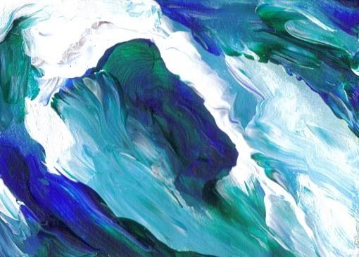 Surging Wave Form - Cricket Diane C Phillips, Cricket House Studios -2008