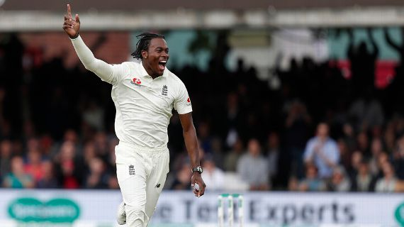 Jofra Archer bowled another electric spell – © AFP