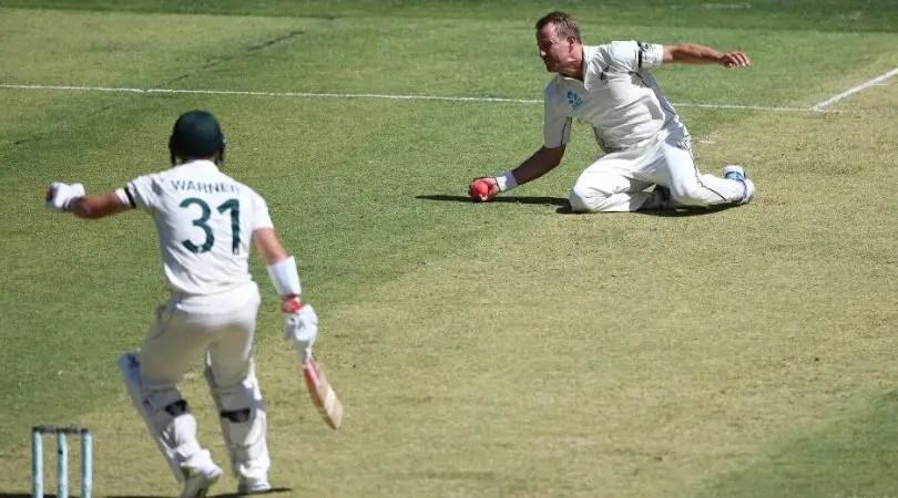 Neil Wagner Takes a Blinder to dismiss David Warner at Perth