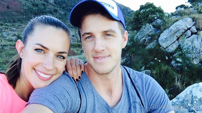 Morne Morkel and his wife