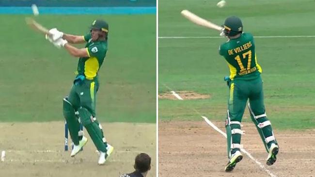 AB de Villiers reverse hook
