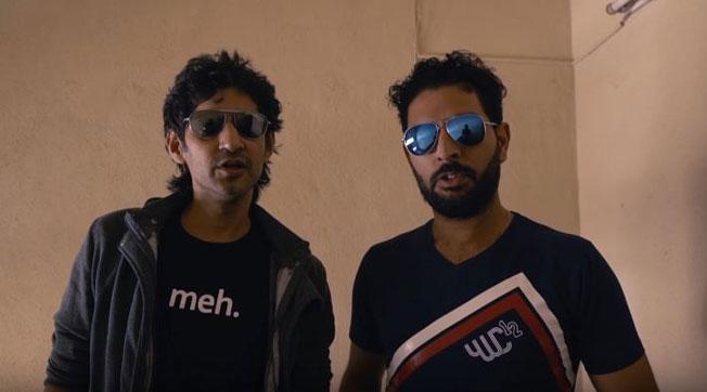 Gaurav Kapoor and Yuvraj Singh