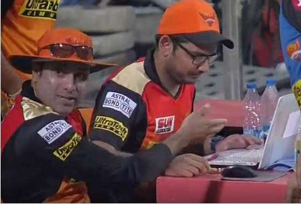 IPL SRH analyst laptop