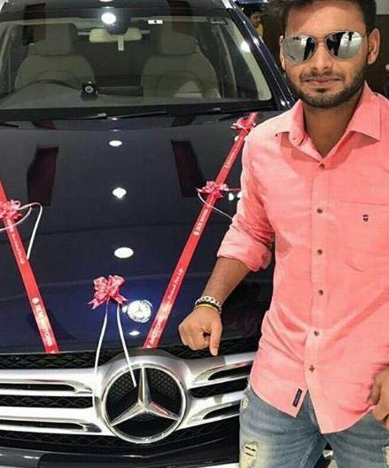 Rishabh Pant car 2