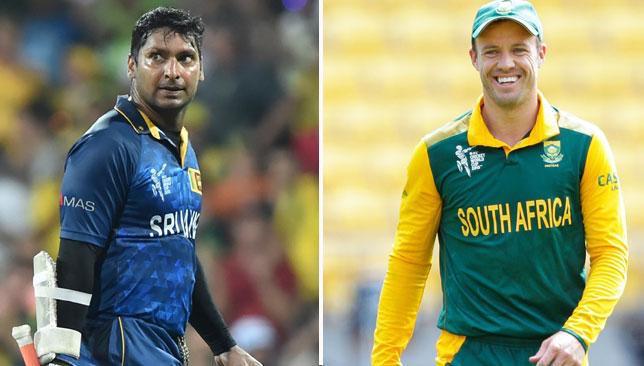AB de Villiers , Kumar Sangakkara
