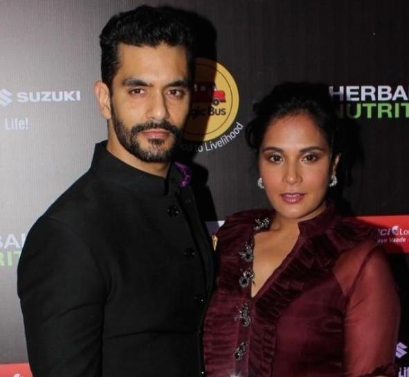 Angad Bedi & Richa Chadha