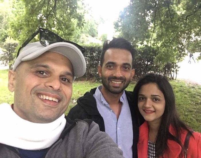 Ajinkya Rahane, Vikram Sathaye , Radhika Rahane