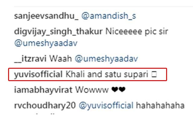 Umesh-Yadav trolled by Yuvraj