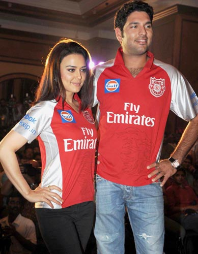 Preity Zinta, Yuvraj Singh