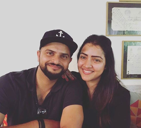 Suresh Raina and Priyanka Chaudhary 4