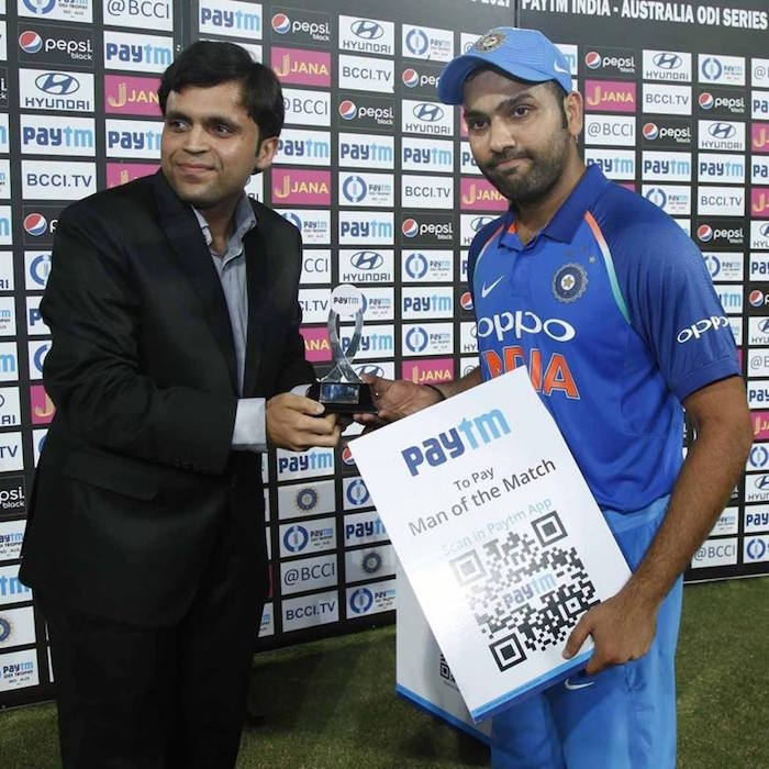 Rohit Sharma, Man of the match