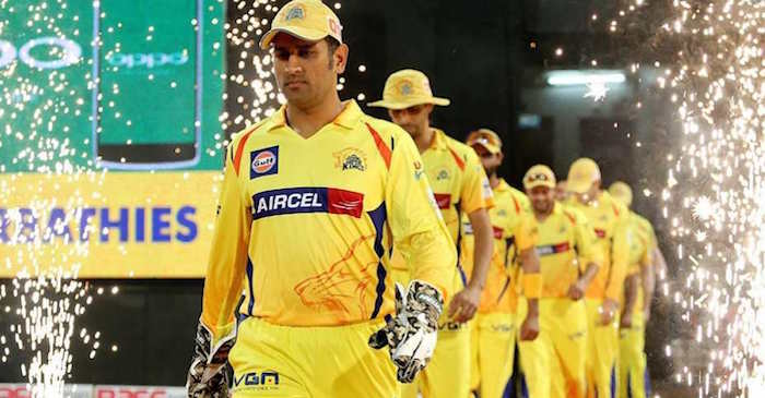 MS Dhoni Chennai Super Kings