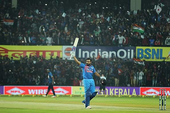 Rohit Sharma T20I century