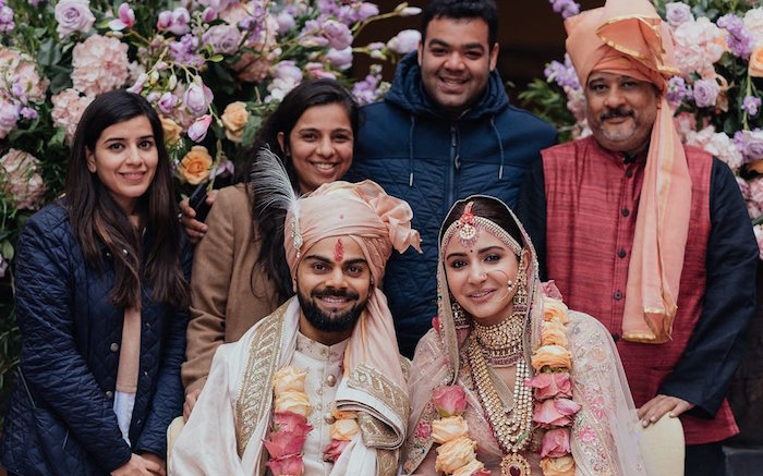Virat Kohli, Anushka Sharma wedding