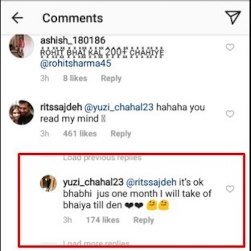 Chahal comment 2