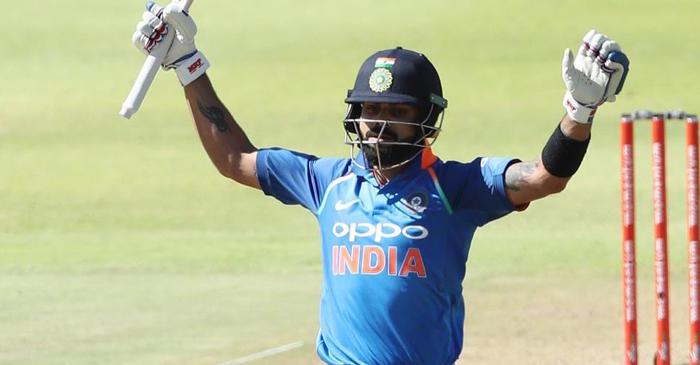 Virat Kohli 34th ODI century