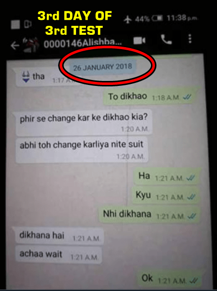 Whatsapp proof