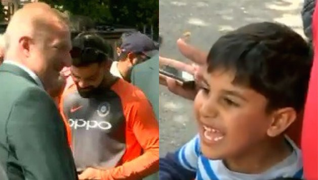 Virat Kohli little fan