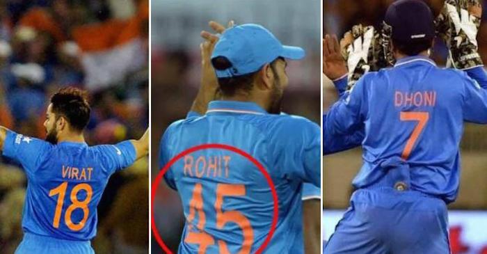 Indian cricket team jersey