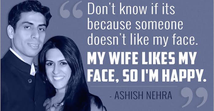 Ashish Nehra quotes