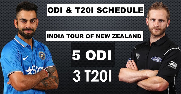 India tour of New Zealand in 2019