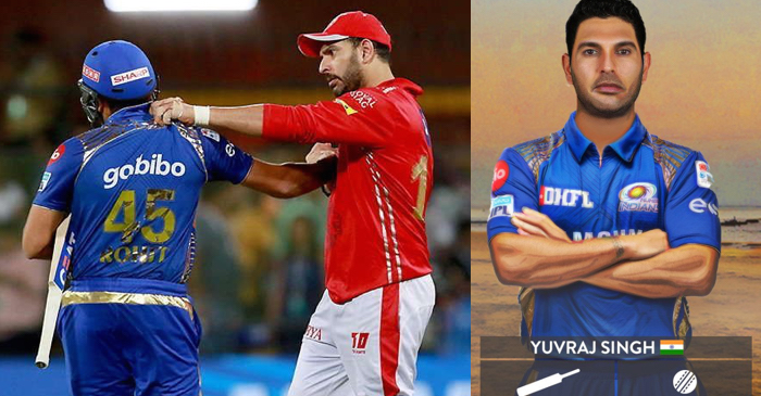 IPL 2019 auction: Yuvraj Singh tweets for Rohit Sharma after