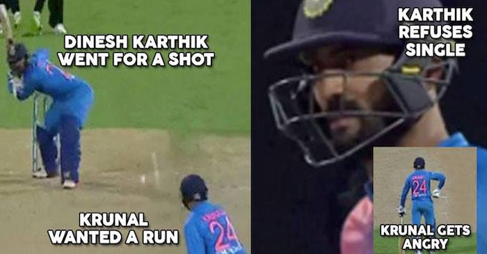 Dinesh Karthik reveals why he refused a single to Krunal Pandya in lost match against New Zealand