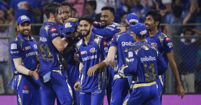 Mumbai Indians IPL 2019