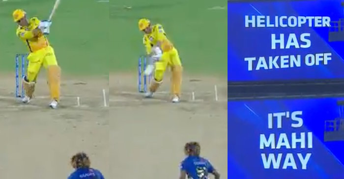 MS Dhoni six off Lasith Malinga